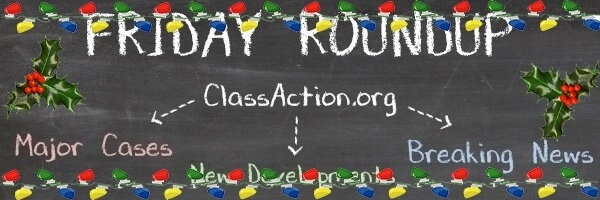 Class Action Roundup – Post-Holiday Break Edition