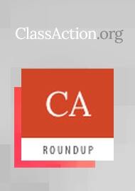 Class Action Roundup - October 30