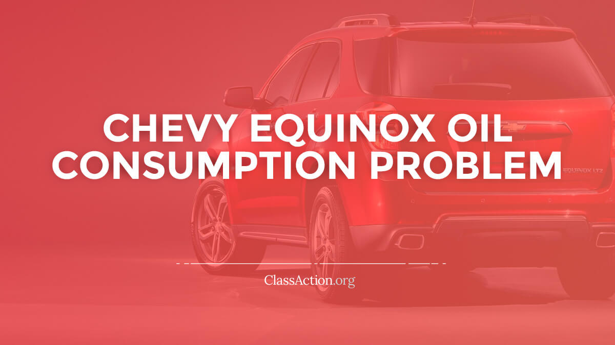 Chevy Equinox, GMC Terrain Oil Consumption Lawsuit