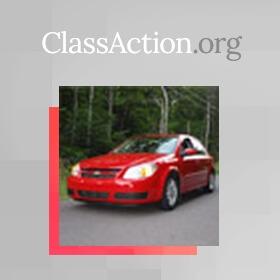 A Decade Later, GM Recalls Chevy Cobalt, Pontiac G5 Over