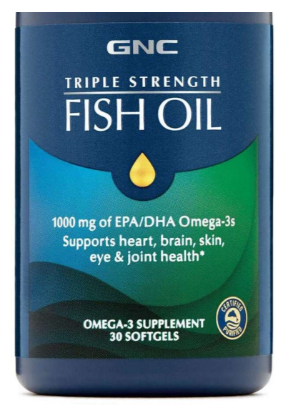 GNC fish oil allegedly contains no fish oil