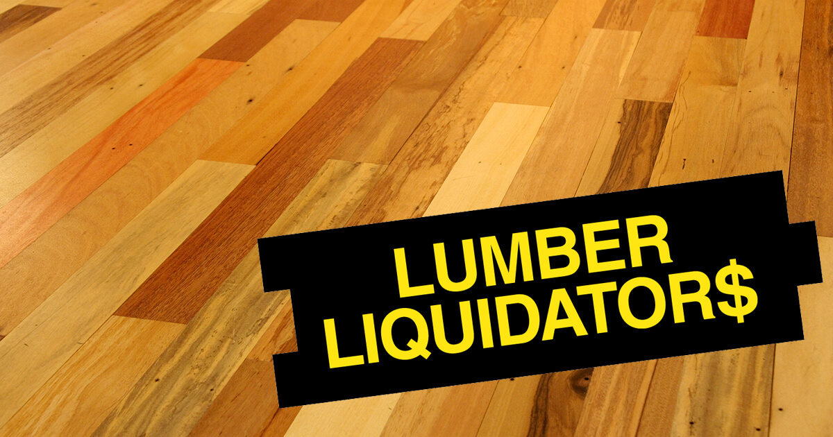 Lumber Liquidators Agrees To Settle China Made Flooring Class Actions For 36m