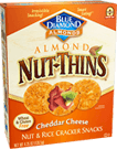 Blue Diamond Cheddar Cheese Nut Thins