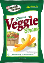 Sensible Portions Garden Veggie Straws