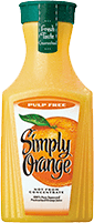 Simply Orange and Simply Grapefruit beverages
