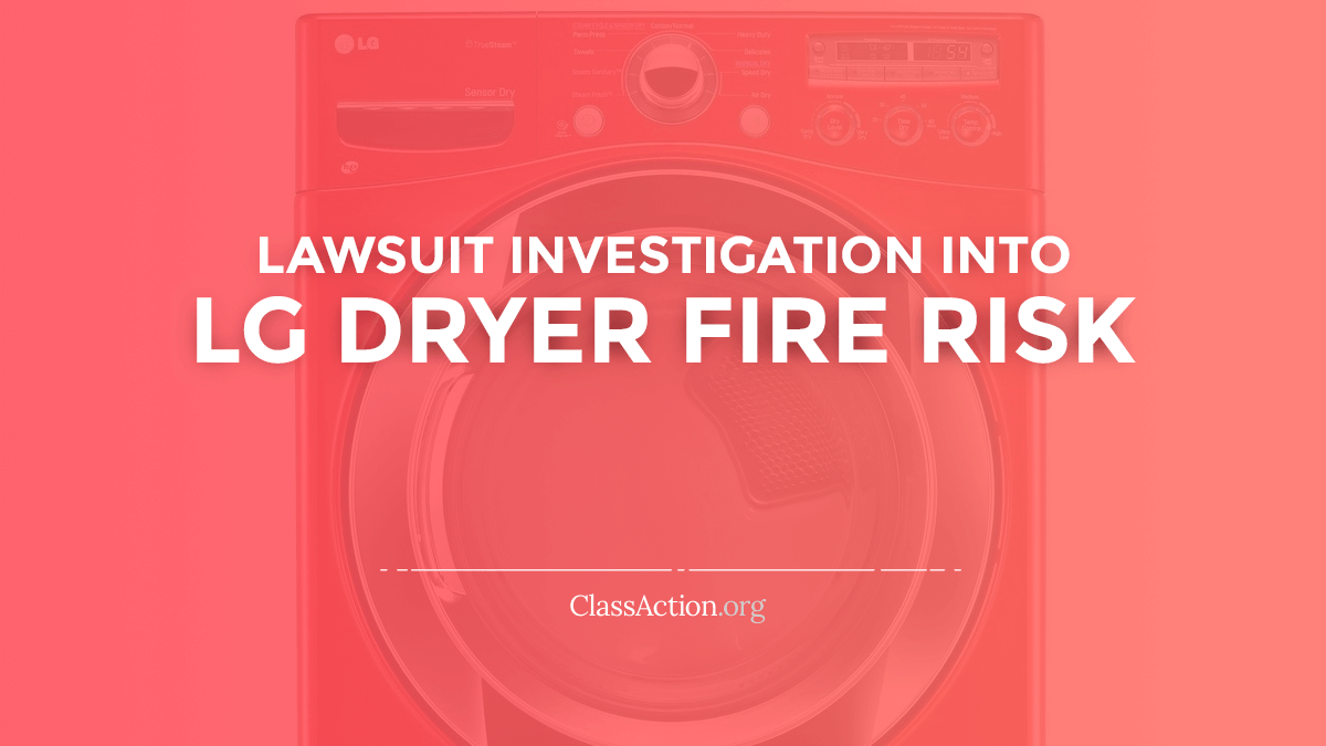 Lg Dryer Fire Lawsuits Burning Smell Problems Wiring Harness Issues