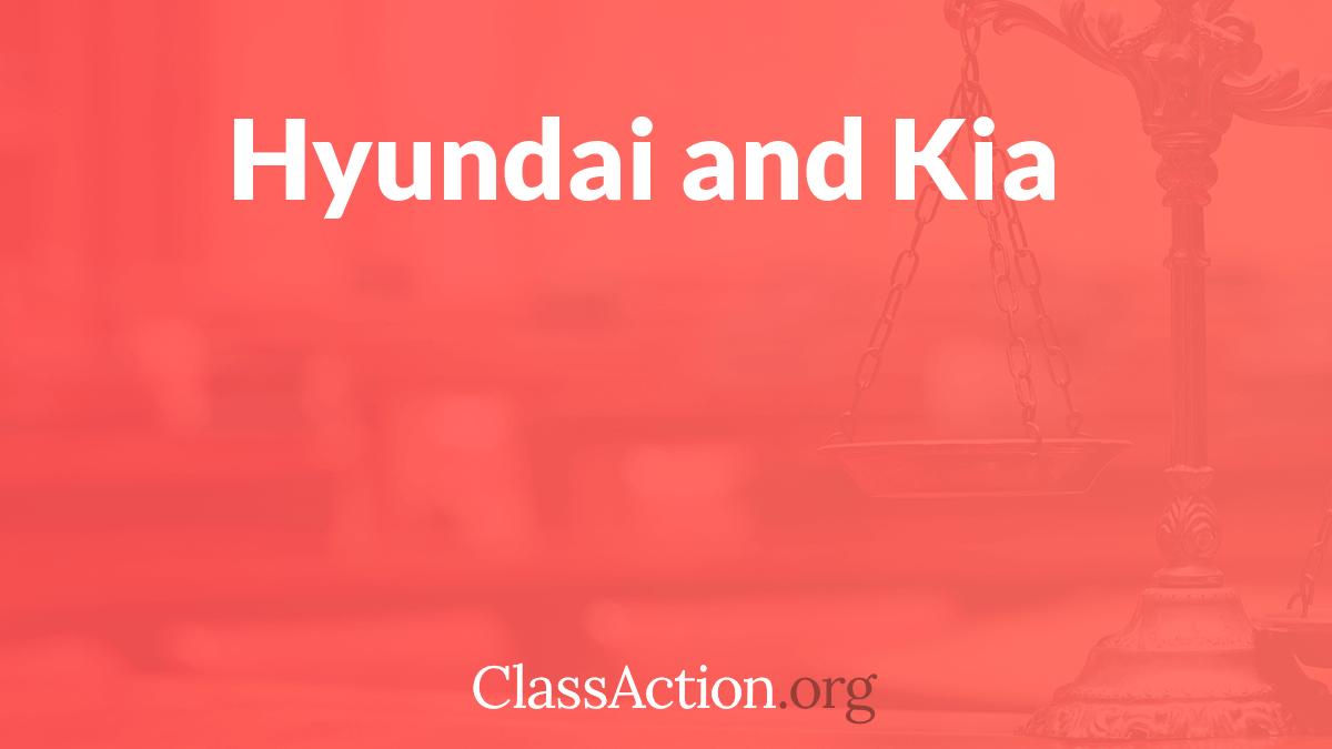 Hyundai, Kia Class Action Lawsuit | Models Affected