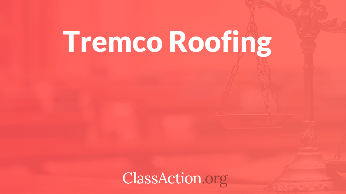 Tremco Roofing Lawsuit Tremco Roofing Class Action